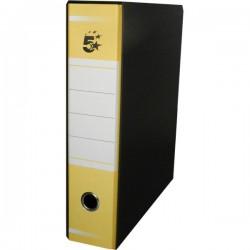 Registratori a leva 5 Star - commerciale - Dorso 5 cm - 23x31 cm - giallo - SPU5GI