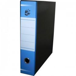 Registratori a leva 5 Star - commerciale - Dorso 8 - 23x31 cm - blu (conf.10)