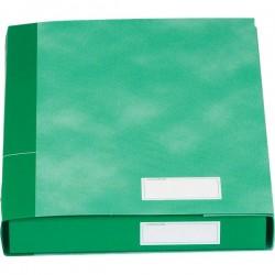 Gruppi 6 cartelle Essentials Esselte - 3 lembi - 25x32x4 cm - verde
