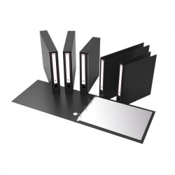 "Portatabulati Rexel - Con custodia - 5,5 cm - 12""x28 cm - nero"
