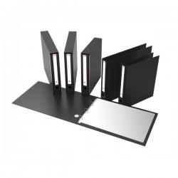 "Portatabulati Rexel - Con custodia - 5,5 cm - 12""x41 cm - nero"