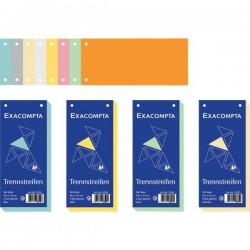 Divisori orizzontali Exacompta - azzurro (conf.100)