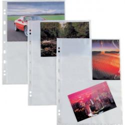 Buste trasparenti Atla F Sei Rota - 4 spazi (15x21 cm) (conf.10)