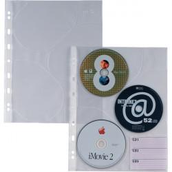 Buste trasparenti Atla CD 3 Sei Rota (conf.10)