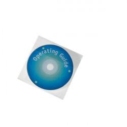 Buste porta CD/DVD Durable - aletta chiusura lato superiore (conf.25)