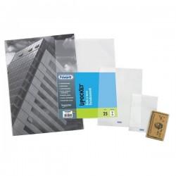 Buste senza foratura Upocket Favorit - trasp - 5,4x8,5cm - carta di credito (conf.25)