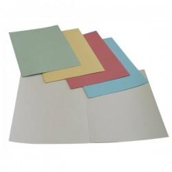 Cartelle manilla 190 g/mq 5 Star - grigio 24,5x34 cm - Semplici CM01GR190_5STAR (conf.100)