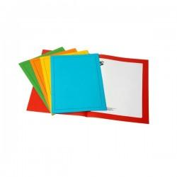 Cartelline in cartoncino con stampa 5 Star - semplici - assortiti - 24,5x34,5 cm (conf.50)