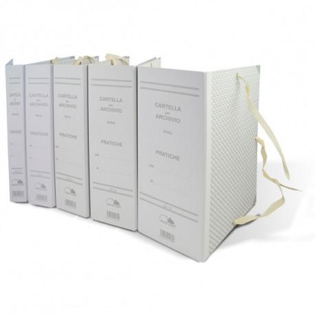 Faldoni rivestiti in carta Euro-Cart - dorso 10 cm - f.to 25x35 cm