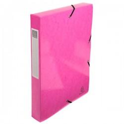 Scatole archivio box Iderama Exacompta - rosa