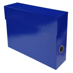 Scatole portaprogetti Iderama Exacompta - blu scuro
