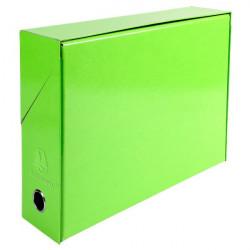Scatole portaprogetti Iderama Exacompta - verde anice