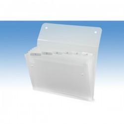 Archiviatore a soffietto Ice Rexel - 6 tasche