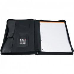 Portablocco con calcolatrice Exawallet Exacompta - nero
