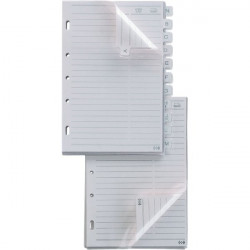 Ricambi Telex Sei Rota - ricambi rubriche - 15x21 cm (conf.15)