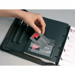 Portabiglietti da visita adesivi Durable - 57x90mm (conf.10)