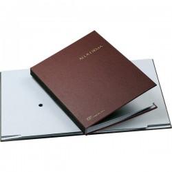 Libro Firma 14 intercalari Fraschini - rosso