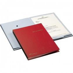 Libro Firma 18 intercalari Fraschini - rosso