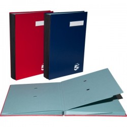 Libro firma PVC 5 Star - blu