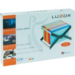 Archivio portatile LuXor Bertesi - 5 cartelle colori assortiti (conf.5)