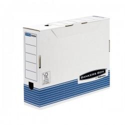 Contenitore Archivio A4 Dorso 8 cm Bankers Box System Fellowes - A4 - 36x8x25,5 cm (Conf.10)