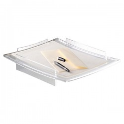 Vaschetta portacorrispondenza Acrylight CEP - trasparente - 27,5x33,6x6 cm