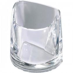 Portapenne Nimbus Rexel - cristallo