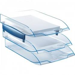 Portacorrispondenza Ice Blue CEP - cristallo/blu