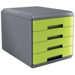 Accessori Da Scrivania My Desk Arda - Cassettiera - 29,5x38,5x28,2 cm - Verde - 18P4Pv