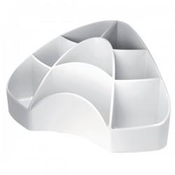 Accessori Da Scrivania My Desk Arda - Portaoggetti - 18,5x12,3x9 cm - Bianco