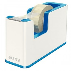 Dispenser per nastro adesivo WOW Dual Color Leitz - 5,1x12,6x7,6 cm - blu metallizzato