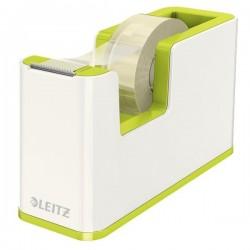 Dispenser per nastro adesivo WOW Dual Color Leitz - 5,1x12,6x7,6 cm - verde metallizzato
