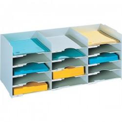 Sistema multiblocco Paperflow - Blocco schedario - grigio