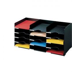 Sistema multiblocco Paperflow - Blocco schedario - nero