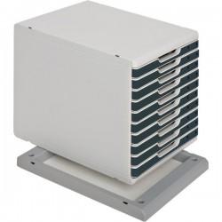 Base per sistemi modulari Cassettiera MODULO A4 Exacompta - grigio