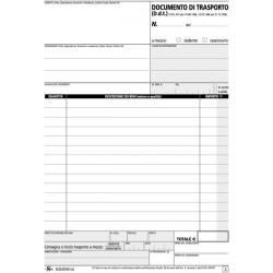 Blocco documenti di trasporto Semper Multiservice -carta chimica 3 parti - 33x3 fogli