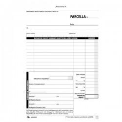 Blocco parcelle professionisti Semper Multiservice - Carta chimica 2 parti - 148x215 mm