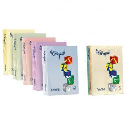 Carta colorata Le Cirque Favini - Colori tenui - 80 g/mq - 5 colori assortiti- A71x504 (risma500)