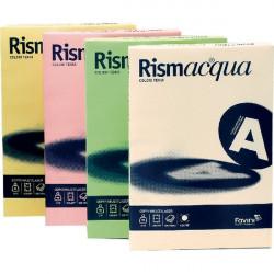 Cartoncino colorato Rismacqua Favini A3 - 140 g/mq - rosa (risma200)