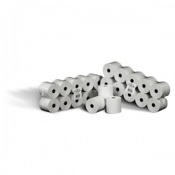 Rotolo calcolatrice Rotomar - cellulosa fibra corta -5,7cm-35m-12mm-60mm (conf.10)