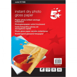Carta fotografica 5 Star - Glossy - 10x15 cm - 260 g/mq (conf.50)