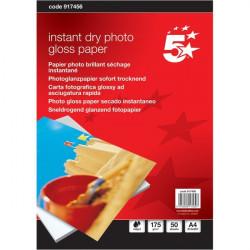 Carta fotografica 5 Star - Glossy - A4 - 175 g/mq (conf.50)