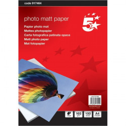 Carta fotografica 5 Star - Photo Matt - A4 - 165 g/mq (conf.100)