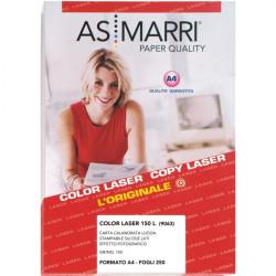 Carta fotografica lucida per stampanti laser AS Marri - 150 g/mq (conf.250)