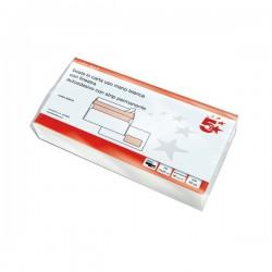 Buste Bianche Commerciali 5 Star - autoadesivo - 11x23 cm - 90 g (conf.50)