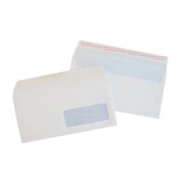 Buste per stampa laser con finestra Pigna - strip - 11x23 cm - patella aperta - 90 g (conf.500)