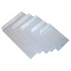 Buste a sacco con strip Pigna - bianco - 16x23 cm - 80 g/mq - strip (conf.500)
