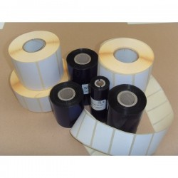KIT etichette-ribbon Etiform - 76x40 - 3450 - 2 - 1/2'' - K076x040x050R1 (conf.2 ribbon, 3450 etic.)