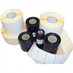KIT etichette-ribbon Etiform - 90x48 - 2955 - 2 - 1/2'' - K090x048x050R2 (conf.2 ribbon, 2955 etic.)