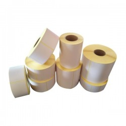 Etichette in rotolo Rotolificio Pugliese - Carta vellum - 76x40 mm - ETIV7640-1000 (conf.6)